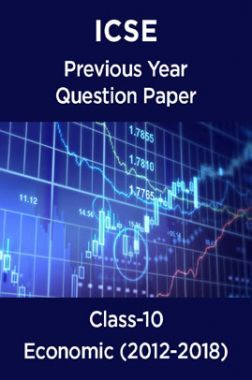 ICSE Previous Year Question Paper Economic (2012-2018) For Class-10