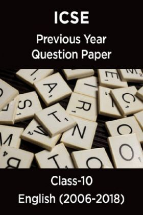 ICSE Previous Year Question Paper English (2006-2018) For Class-10