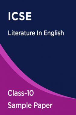 ICSE Literature In English Sample Paper For Class-10