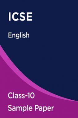 ICSE English Sample Paper For Class-10