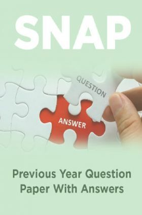 SNAP Previous Year Question Paper With Answers