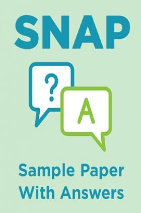 SNAP Sample Paper With Answers