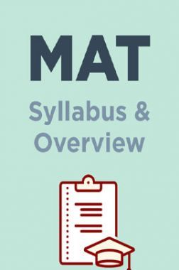 MAT Syllabus & Overview