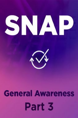 SNAP General Awareness Part 3