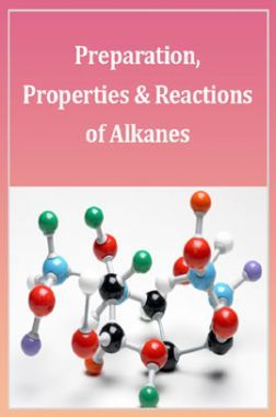 Download Advance Chemistry (Preparation, Properties And Reactions Of  Alkanes) For IIT-JEE Mains by Panel Of Experts PDF Online