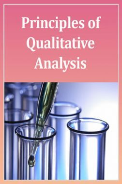 Advanced Chemistry (Principles Of Qualitative Analysis) For IIT-JEE Mains
