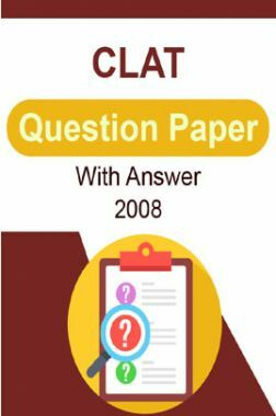 CLAT Question Paper With Answer 2008
