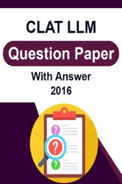 CLAT LLM Question Paper With Answer 2016