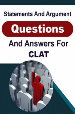 Statement And Argument Questions And Answers For CLAT