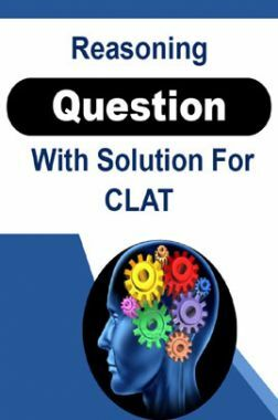 Reasoning Question With Solution For CLAT