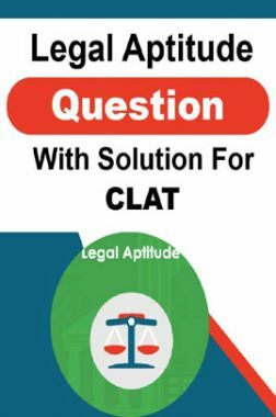 Legal Aptitude Question With Solution For CLAT