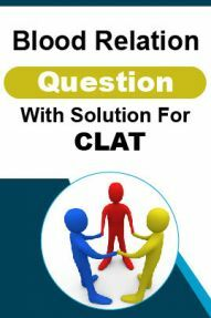 Blood Relation Question With Solution For CLAT