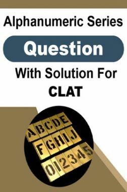 Alphanumeric Series Question With Solution For CLAT