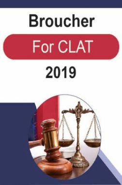 Broucher For CLAT 2019