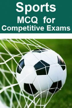 Sports MCQ For RRB JE