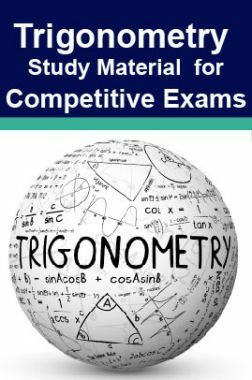 Trigonometry Study Material For RRB JE