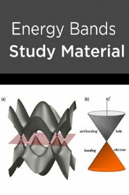 Energy Bands Study Material