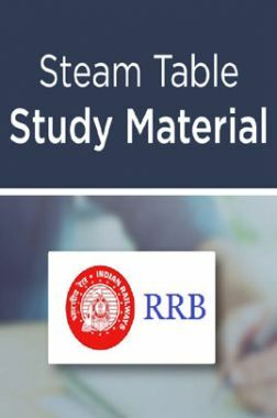 Steam Table Study Material