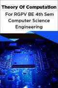 Theory Of Computation For RGPV BE 4th Sem Computer Science Engineering
