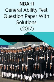 NDA-II General Ability Test Question Paper With Solutions (2017)