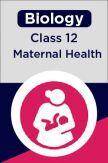 Biology-Maternal Health Class 12th