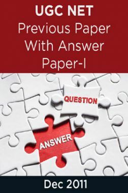 UGC NET Previous Paper With Answer Paper-I Dec 2011