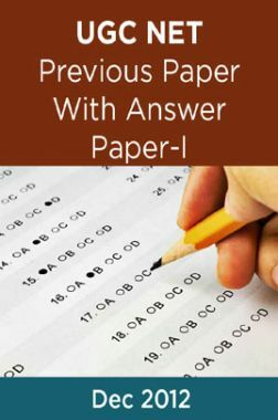 UGC NET Previous Paper With Answer Paper-I Dec 2012