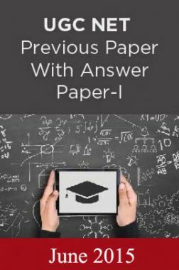 UGC NET Previous Paper With Answer Paper-I June 2015