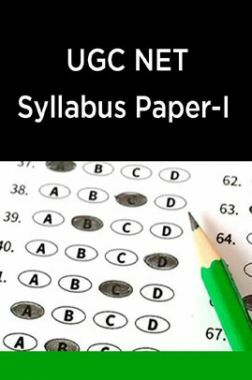 UGC NET Syllabus Paper-I