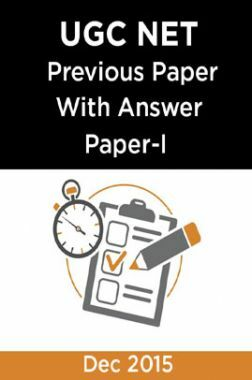 UGC NET Previous Paper With Answer Paper-I Dec 2015