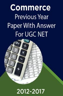 Commerce Previous Year Paper With Answer (2012-2017) For UGC NET