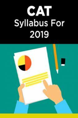 CAT Syllabus For 2019