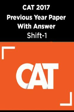 CAT 2017 Previous Year Paper With Answer Shift-1