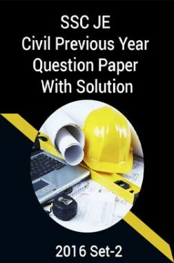 SSC JE Civil Previous Year Question Paper With Solution 2016 Set-2