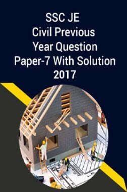 SSC JE Civil Previous Year Question Paper-7 With Solution 2017