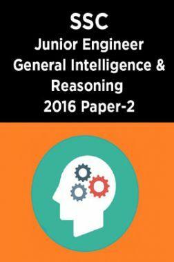 SSC Junior Engineer General Intelligence And Reasoning 2016 Paper-2