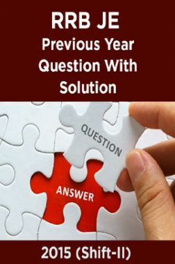 RRB JE Previous Year Question With Solution 2015 (Shift-II)