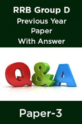 RRB Group D Previous Year Paper With Answer Paper-3