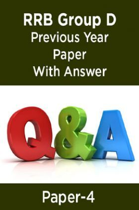 RRB Group D Previous Year Paper With Answer Paper-4