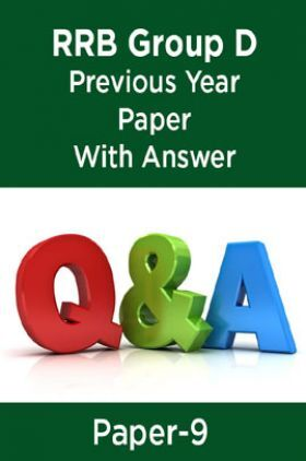RRB Group D Previous Year Paper With Answer Paper-9