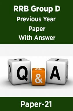 RRB Group D Previous Year Paper With Answer Paper-21