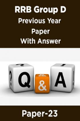 RRB Group D Previous Year Paper With Answer Paper-23