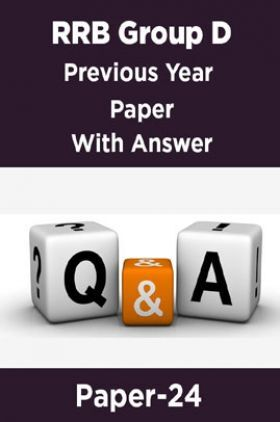 RRB Group D Previous Year Paper With Answer Paper-24