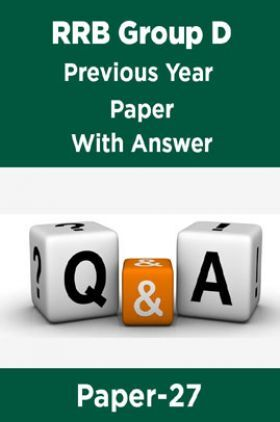 RRB Group D Previous Year Paper With Answer Paper-27
