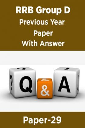 RRB Group D Previous Year Paper With Answer Paper-29