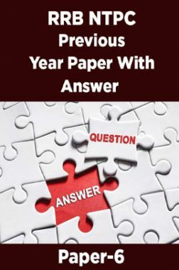 RRB NTPC Previous Year Paper With Answer Paper-6