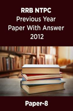 RRB NTPC Previous Year Paper With Answer 2012 Paper-8
