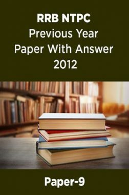 RRB NTPC Previous Year Paper With Answer 2012 Paper-9