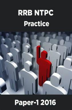 RRB NTPC  Practice Paper-1 2016
