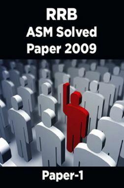 RRB ASM Solved Paper 2009 Paper-1